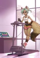 Gym by playfurry