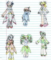 Seedrian Group Drawings by SurgeCraft