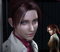 Claire Redfield (4) by AuraIan