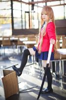 ToraDora- Taiga winter uniform - 06 by MissAnsa