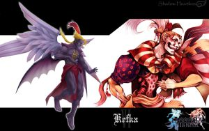 Dissidia Kefka Wallpaper by Shadow-Heartless