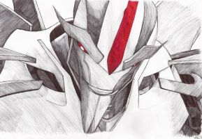 Transformers Prime: Starscream [A3 Sketch] by RexThranuil