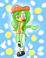 Daisy the Echidna by SonicStaryFan