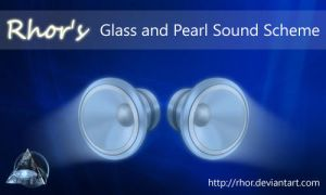 Glass and Pearl Sound Scheme by Rhor