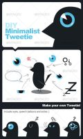 Minimal Tweetie by januz
