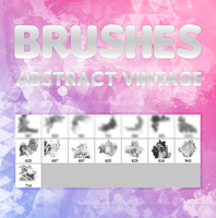 +Brushes[AbstractVintage]+ by ThousandsOfColors