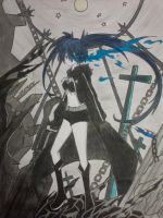 BRS :BLACK ROCK SHOOTER MATO KUROI by Mewtwosama10299