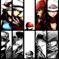 Pokemon trainers Collage by PUTLEADINURHEAD