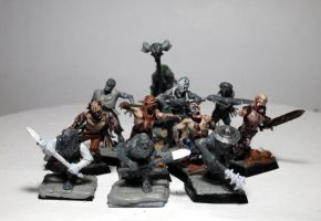 undead warband by Nordic-Dragon