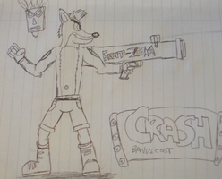 Crash Bandicoot - Fan design by spyaroundhere35