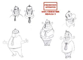 Animation character designs 6 by Guido37