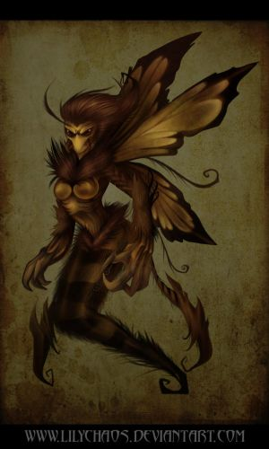 Fairy bee by LilyChaoS