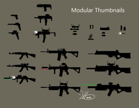 Weapon Thumbs by Eightser