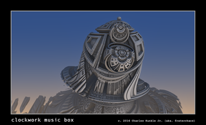 clockwork music box by fraterchaos