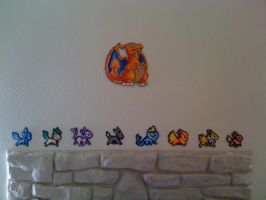 Pokemon Perler Parade by SpringDasie