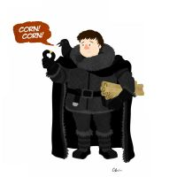 Samwell Tarly by TheSketchBoy