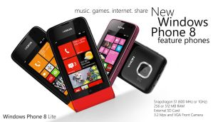 Nokia Feature Phones WP8 by MetroUI