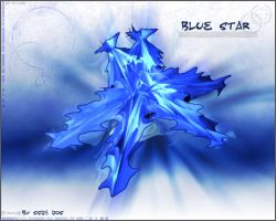 Blue Star by ssj3Jos