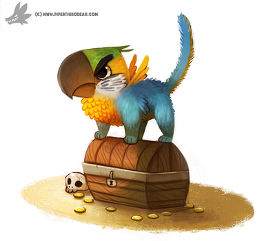 Daily Painting #941. No touchy! (OG) by Cryptid-Creations