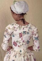 Chintz Gown by Lady-Lovelace