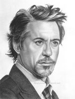 Robert Downey Jr. by markstewart