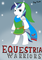Shining Armor dressed as Link by BigRinth