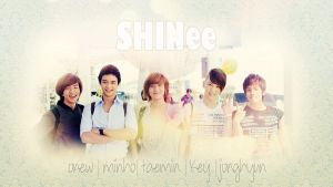 SHINee.Wallpaper by ScouserScream