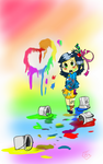 paint everywhere!!! by buynoe
