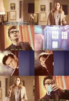 Eleven and Clara meet Ten and Rose by OswinBerrie