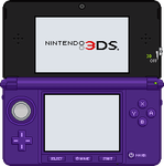 Nintendo 3DS [Midnight Purple] by BLUEamnesiac