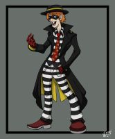 The Legend of Mickey D - HAMBURGLAR by TheDeviantArchitect