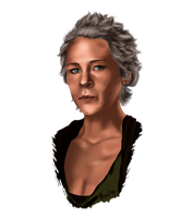 Carol Peletier (Melissa McBride) -The Walking Dead by Naolya