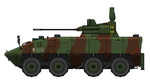 MA9A2 WMAV SHORADS (w/ missiles) by SixthCircle