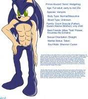 Vampire Sonic Biography Pic by srlOctober23