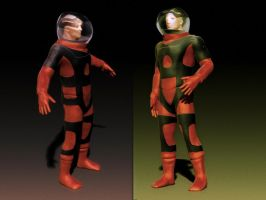 Spacesuit WiP #2 by vmulligan