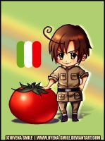Ah, Romano by hyena-smile