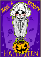 Spoopy, Scary Skele-tan by YouAreReadingThis