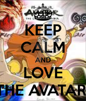 Keep Calm and love The Avatar by Piano-1468
