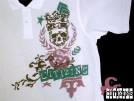 Skull King Polo by truthdondie