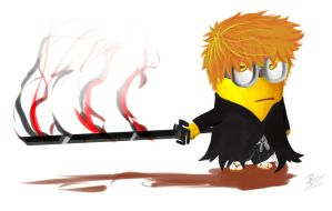 kurosaki minion - despicable bleach by tyzranan