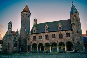 Gruuthuse museum Brugge by roman-gp