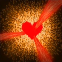 Exploding Heart by ArtCrusade
