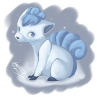 Winter Vulpix by Kaydreamer