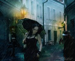 Cold Street by NatsPearlCreation