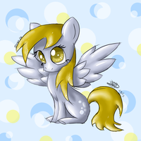 Derpy Do (First drawing with tablet) by estefanoida
