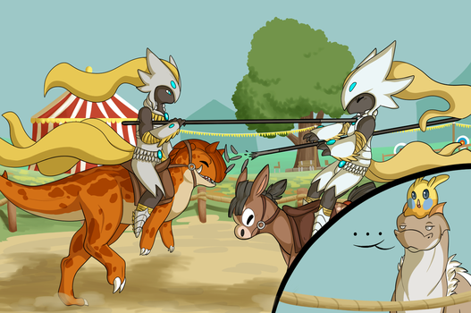 [PI] Joust to this! (COLLAB) by Aloulore