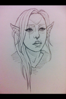 Dunmer Si by InkPotion