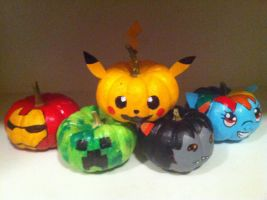 Fandom Pumpkins by Jhuyu26