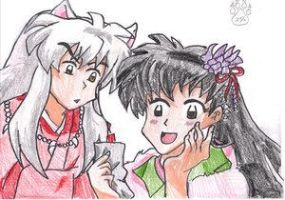 InuYasha and Kagome by YoukiClub