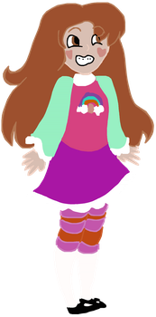 Starel(Star/Mabel Fusion) by bitingsnakes